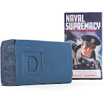 Duke Cannon 03blue1 Naval Supremacy Big Ass Brick Of Soap, 10 Oz
