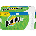 Bounty Select-A-Size Paper Towels, White, 12 Mega Rolls = 20 Regular Rolls