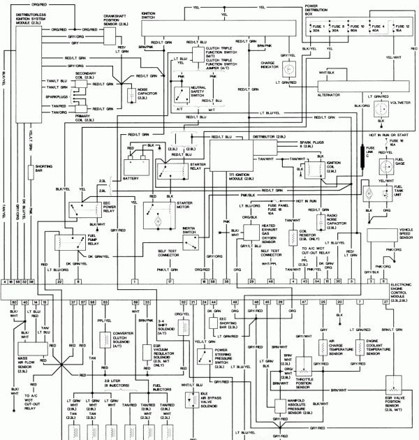 Ford Focus 2000 Fuse Box Diagram Chilton | schematic and ...