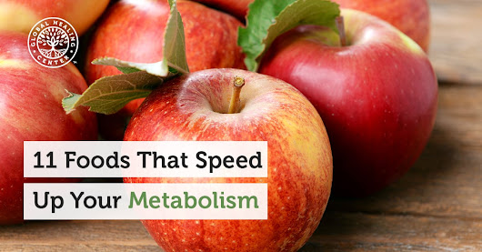 11 Foods That Speed Up Your Metabolism