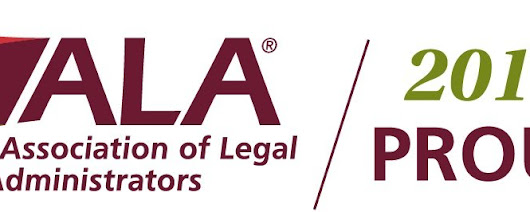 Proud 2017 Sponsors of Association of Legal Administrators