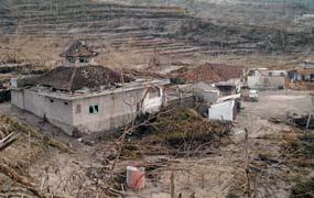 Melongok Sisa-sisa Rumah Mbah Maridjan di Kinahrejo