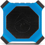 Ecoxgear EcoEdge gdiexedge302 Rugged Waterproof Floating Portable Bluetooth Wireless 20 Watt Smart Speaker with Builtin Bottle Opener Electric Blue