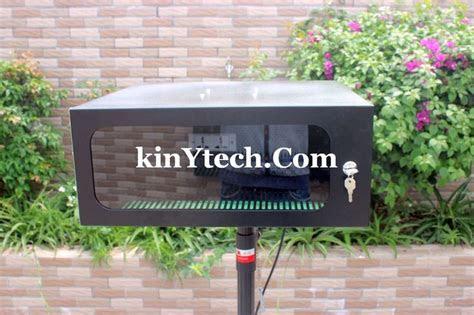 diy outdoor projector enclosure outdoor projector diy