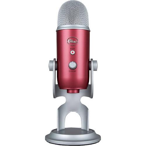 Blue Microphones Yeti USB Microphone - Steel Red