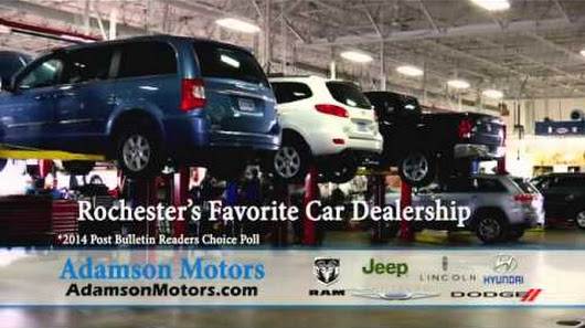 Adamson Motors: Rochester's Favorite Car Dealership
