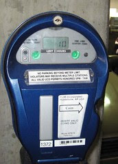Meter with 10 minutes left