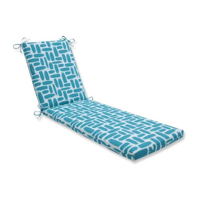 Pillow Perfect Baja Turquoise Blue Patio Chaise Lounge ...