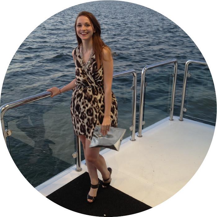 soprano dress, leopard print wrap dress, wedding attire, wedding on a yacht, boat wedding, dressed up, dash dot dotty, brown heels