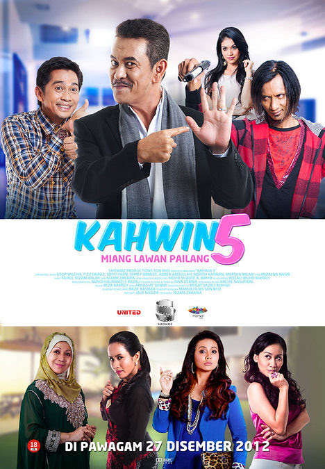 Poster Kahwin 5