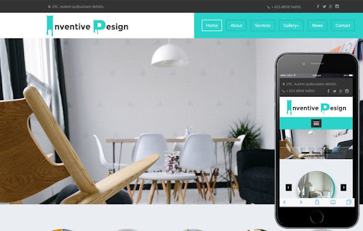 Inventive Design a Interior Category Flat Bootstrap Responsive Web Template