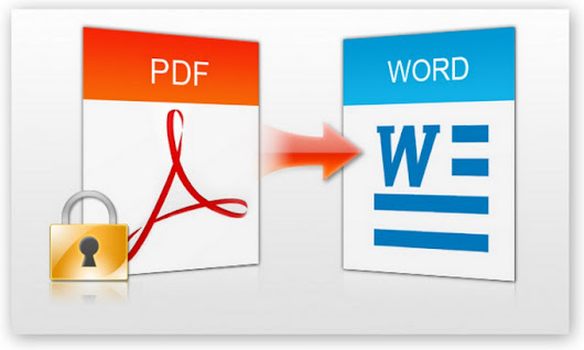 I will gladly turn your Pdf files to Word files