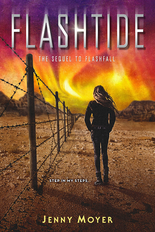 Cover Reveal for Flashfall sequel + Win and ARC of Flashtide!