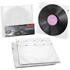 """TunePhonik Inner Sleeve w/ Rice Paper Design to Protect 12"""" LP Records, 50 Count"""