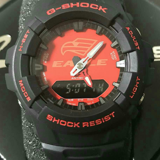 LIMITED EDITION CASIO G-SHOCK G-100GOODYEAR