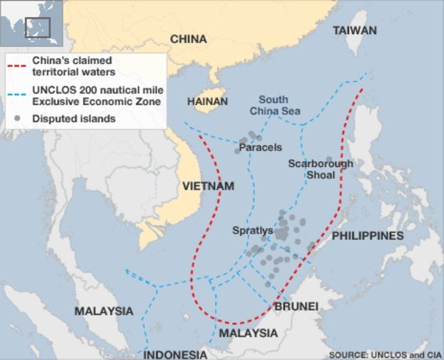 III World War Wind : US ship passes disputed China islands