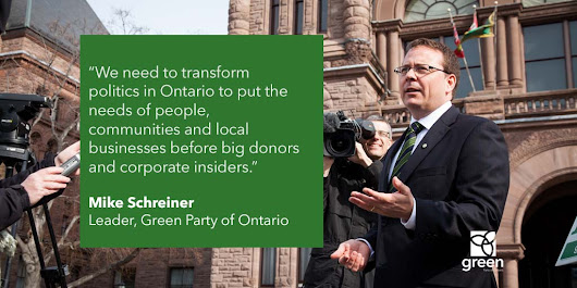 New Year, new brand of politics needed at Queen's Park | Green Party of Ontario