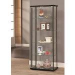Coaster 950170 Curio Cabinet, Black