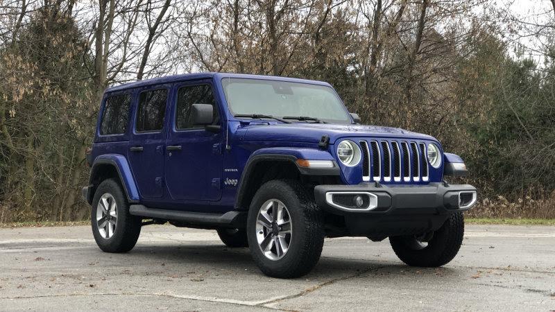 2021 jeep wrangler how standard equipment options will