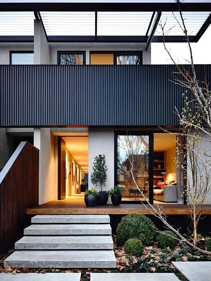 Teras Rumah Modern Minimalis | Ide Rumah Minimalis