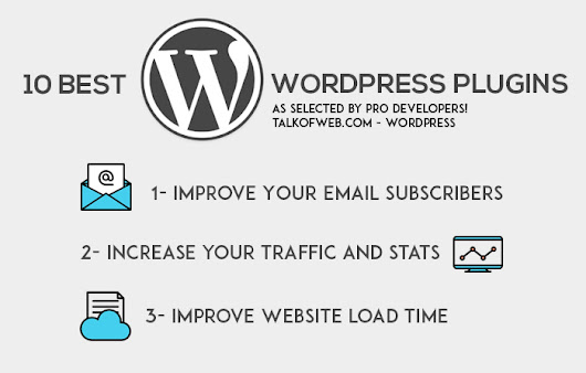 10 Best Free WordPress Plugins which every Blog must Install