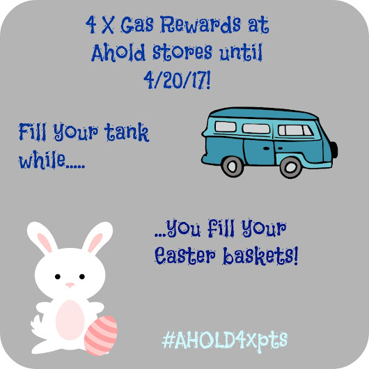4 X Gas Rewards With Select Gift Card Purchase at Ahold Stores: Limited Time! #AHOLD4xpts