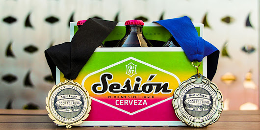 Sesión Cerveza wins Best of Show at 2018 Grand Valley Beer Festival - Full Sail Brewery