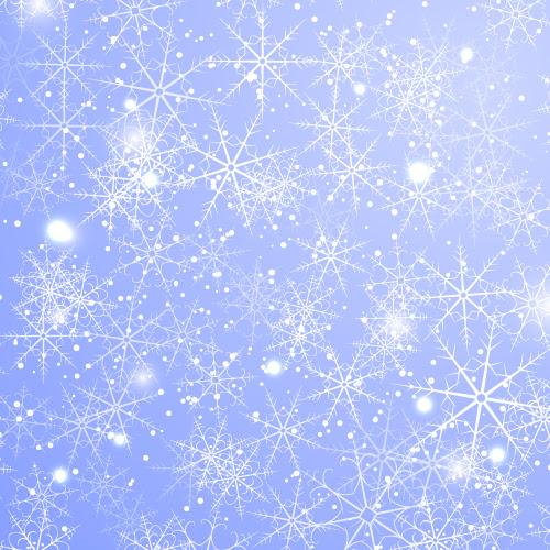 Как нарисовать зимний фон из снежинок в Adobe Illustrator