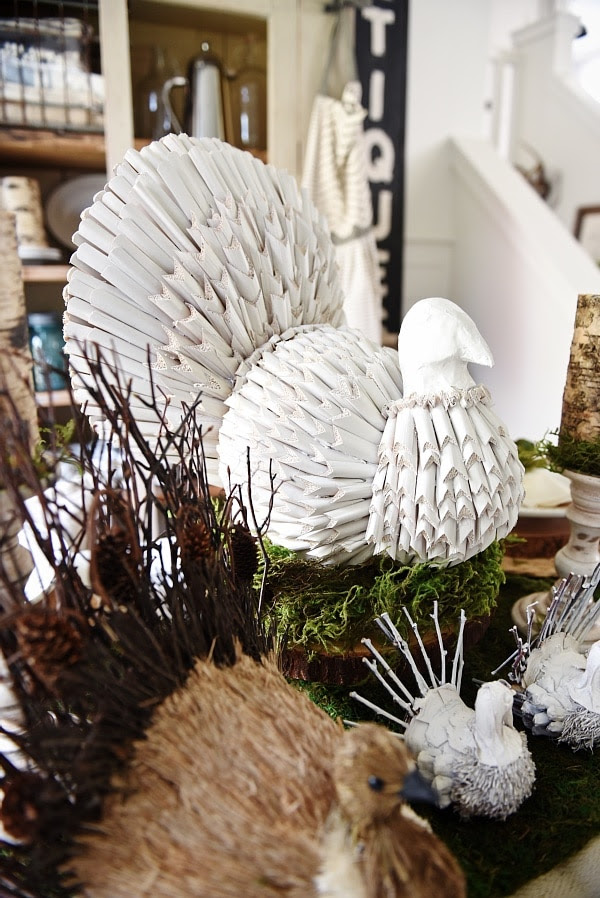 White DIY Turkey Makeover from Liz Marie Blog  ||  Friday Favorites at www.andersonandgrant.com