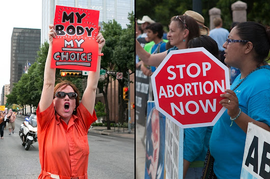 Supreme Court Puts Texas Abortion Law on Hold, by Alexa Ura