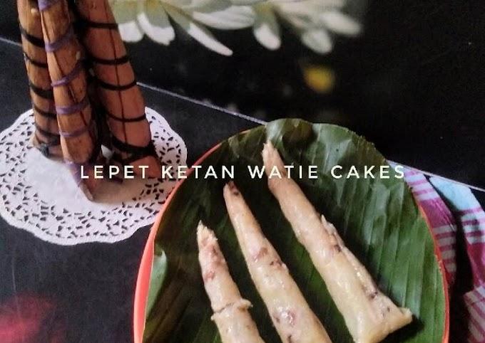 Resep Membuat Lepet ketan,kue tradisional Terenak