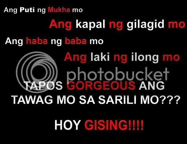 Re: May nag text... funny tagalog quotes.
