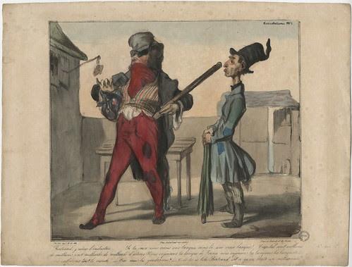 Bertrand, j'adore l'industrie (Daumier)