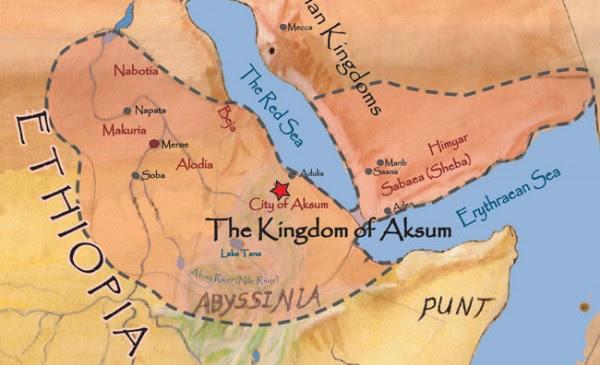 himyar and Marib - Axum Colonies