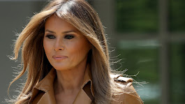 Melania Trump Spent Her Husband's Birthday Away from Her Husband