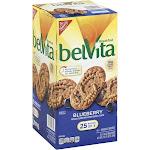 BelVita Breakfast Biscuits, Blueberry - 25 pack, 1.76 oz packs