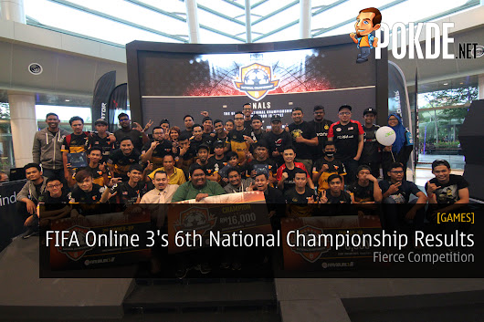 FIFA Online 3's 6th National Championship Results - Pokde