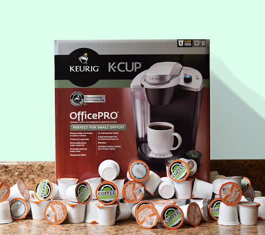 Keurig Brewer + Coffee Pods For a YEAR