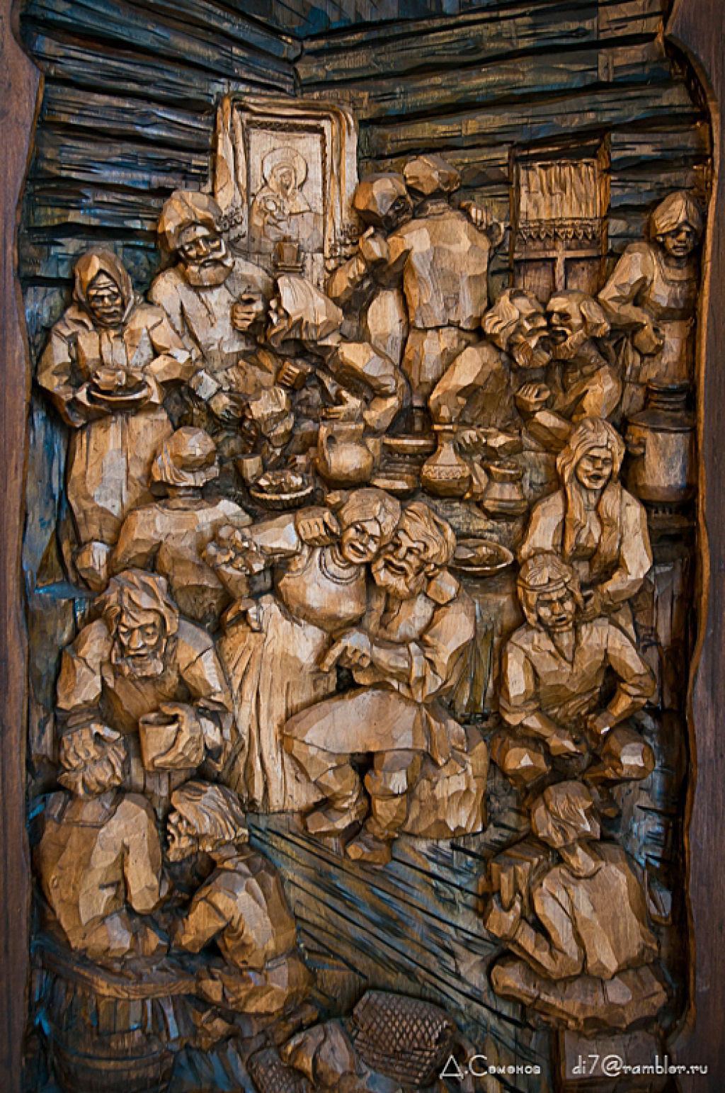 As incríveis pinturas esculpidas de Kronid Gogolev 28