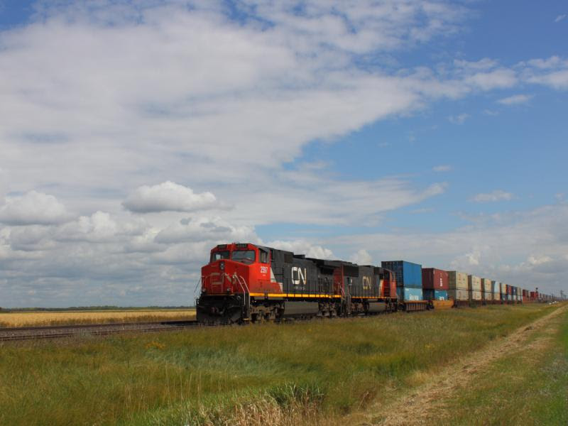CN 2597 near Winnipeg