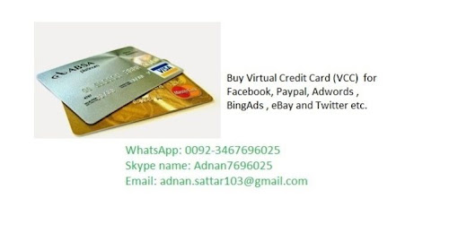 Virtual Credit Card (VCC) For Paypal Verification With $3 Balance