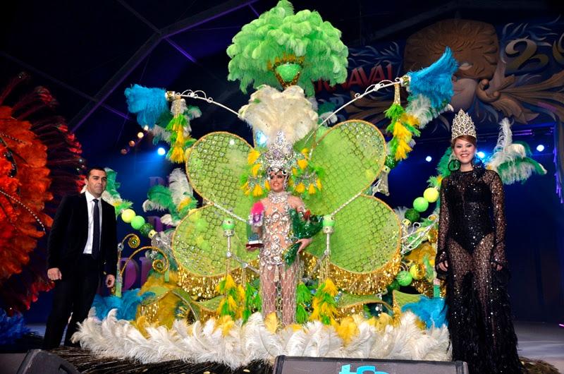 Resultado de imagen de reina carnaval arrecife 2015