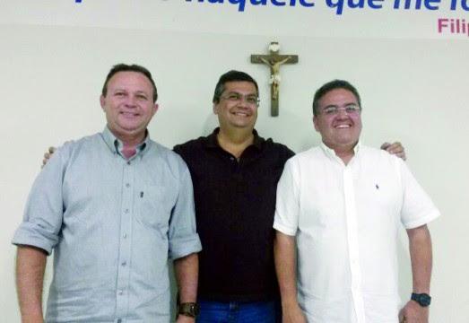 Flávio Dino, Carlos Brandão e Roberto Rocha confirmarão candidaturas do domingo