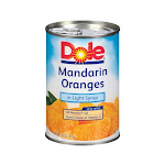 Dole Mandarin Oranges in Light Syrup, 15 Ounce - 12 per case.