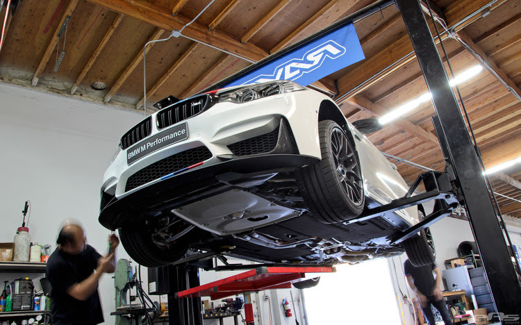 Alpine White F82 M4 Featured In BMW NA SEMA Booth