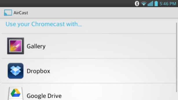 AirCast for Android sends local or cloud videos to Chromecast, test it out now