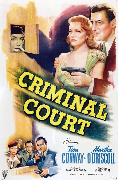 Criminal Court (1946) - She Blogged By Night