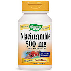 Nature's Way Niacinamide, 500 mg, Capsules - 100 count