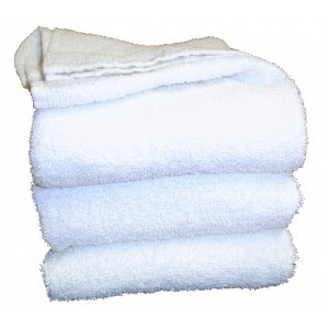 24 X 48 White Bath Towel