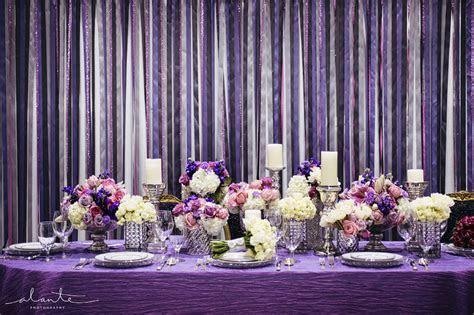 The Bridal Notebook: Purple Wedding Reception